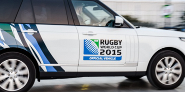 Rugby world cup official vehicle